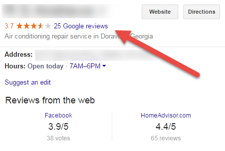 Google My Business - Reviews