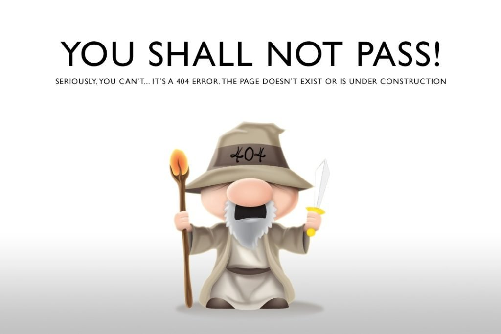 Funny 404 pages1