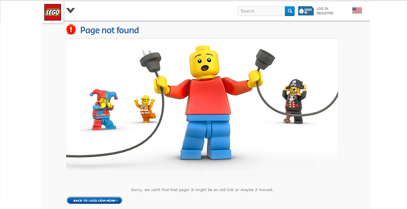 Retain the theme of the 404 error page